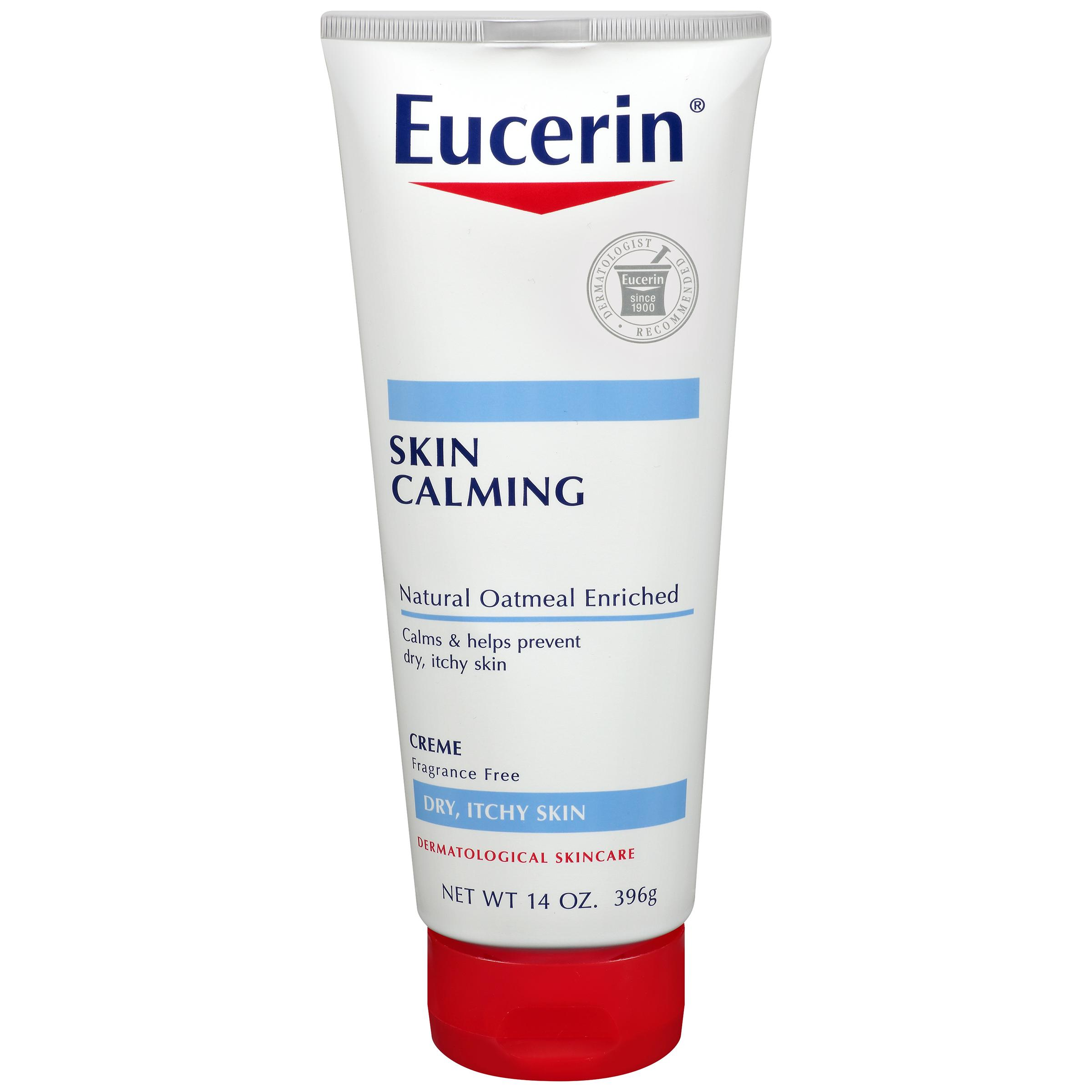 eucerin skin calming daily moisturizing creme reviews