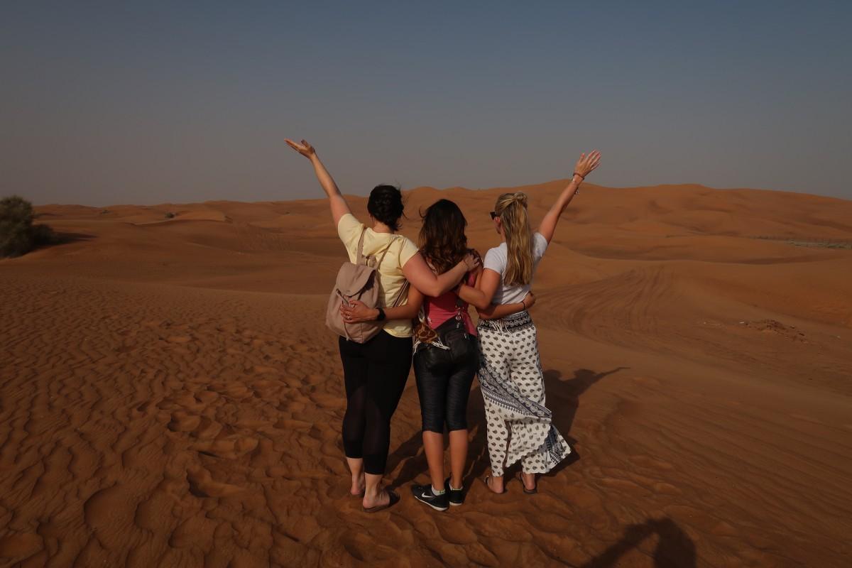evening desert safari dubai review