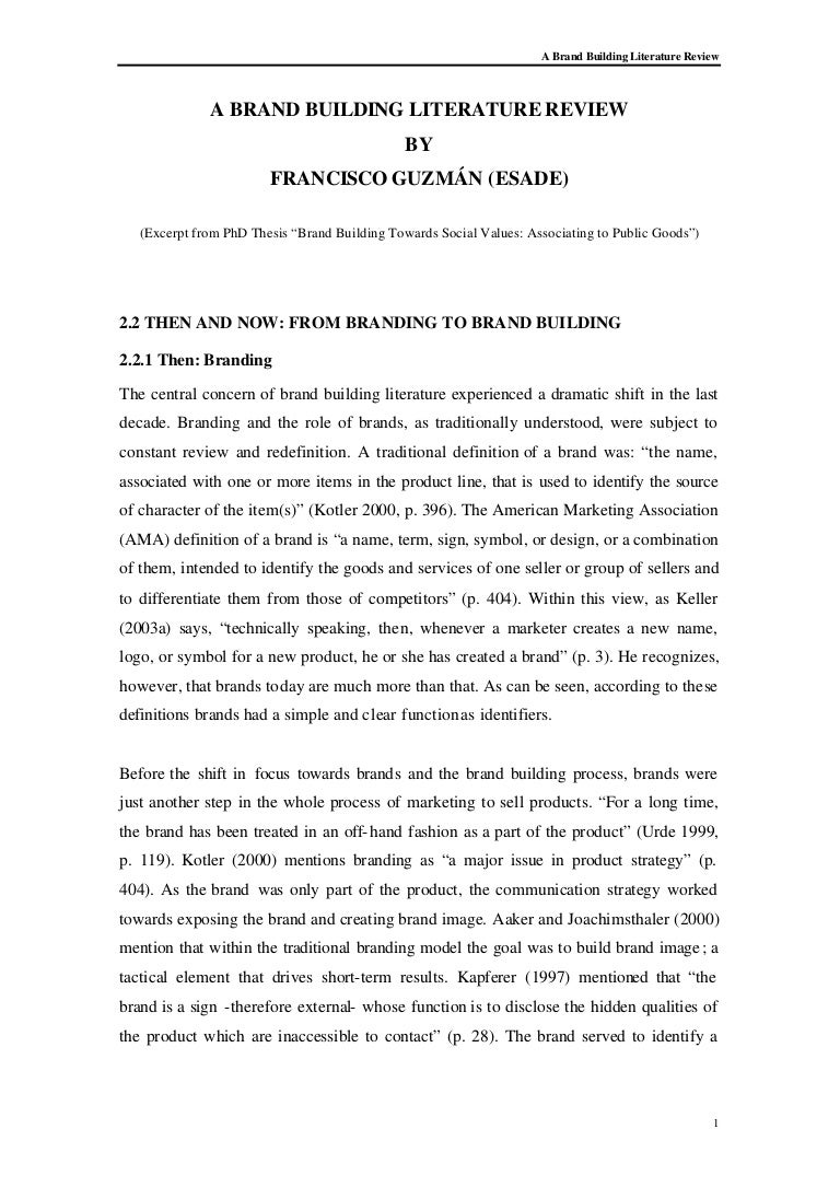 example of literature review pdf