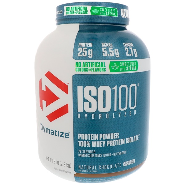 dymatize iso 100 fudge brownie review