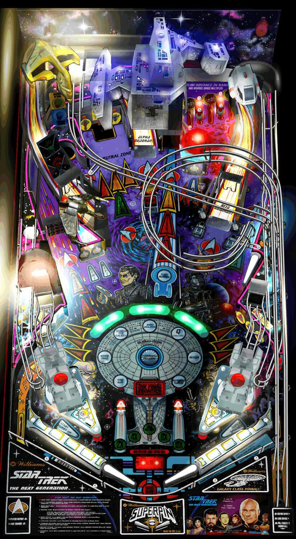 star trek next generation pinball review