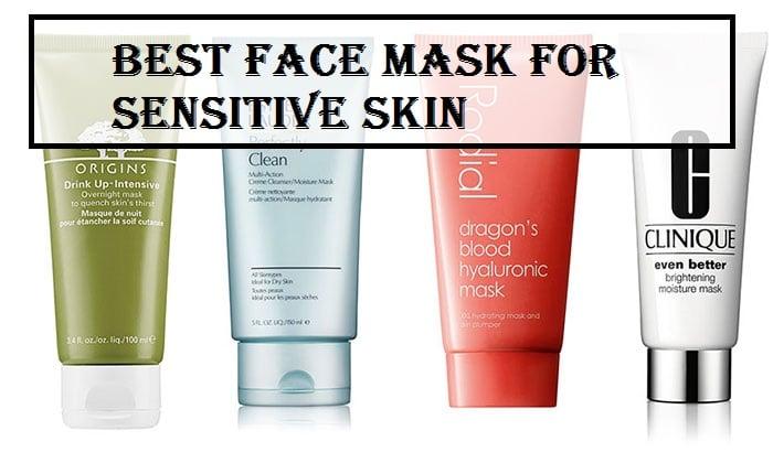 face mask for sensitive skin reviews