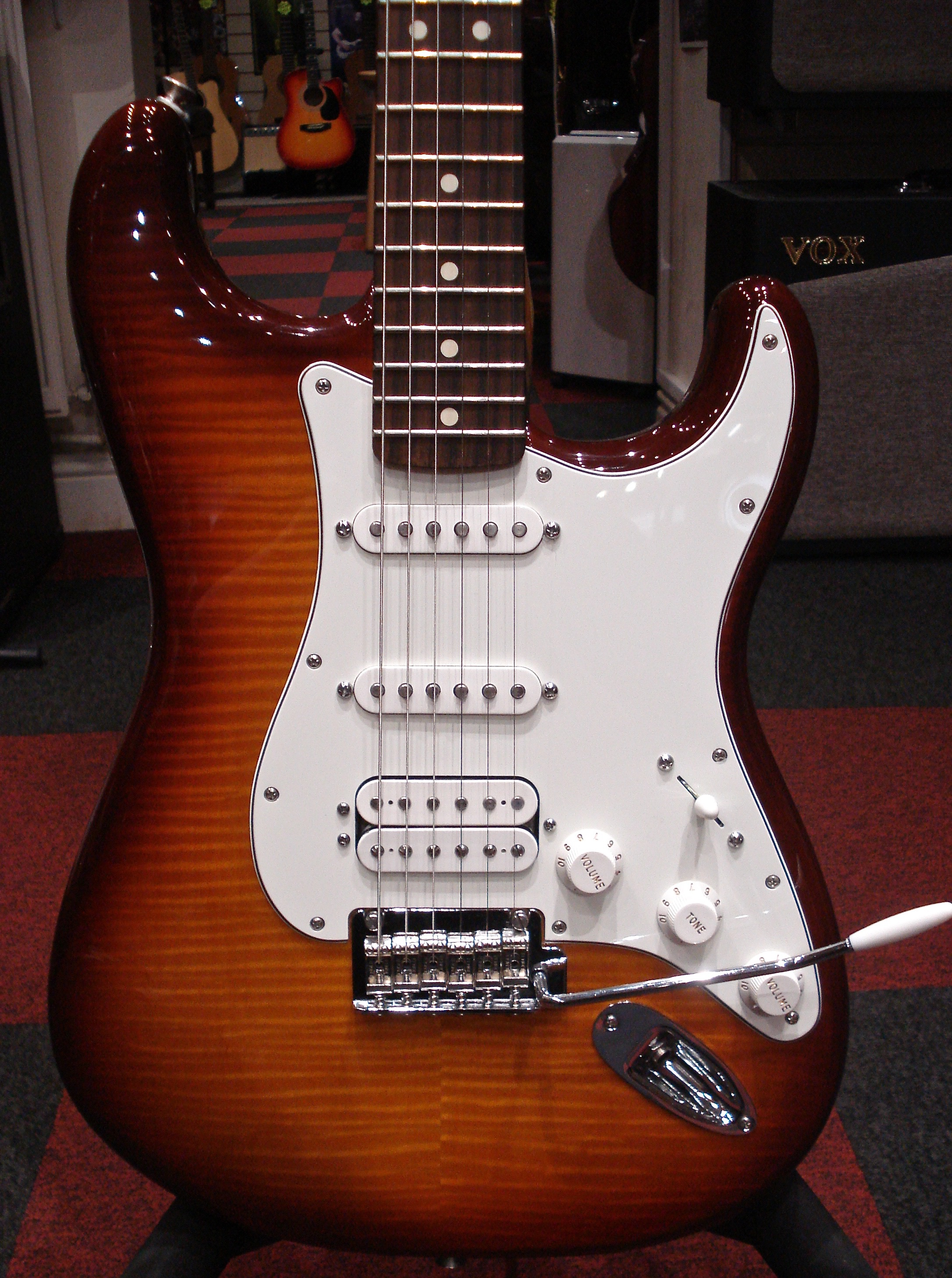 Fender mexican deluxe stratocaster review