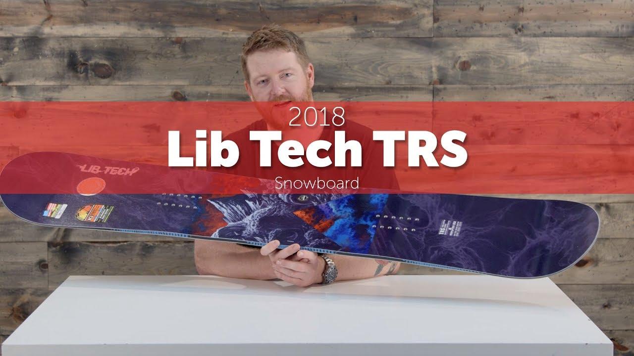 lib tech trs hp 2018 review