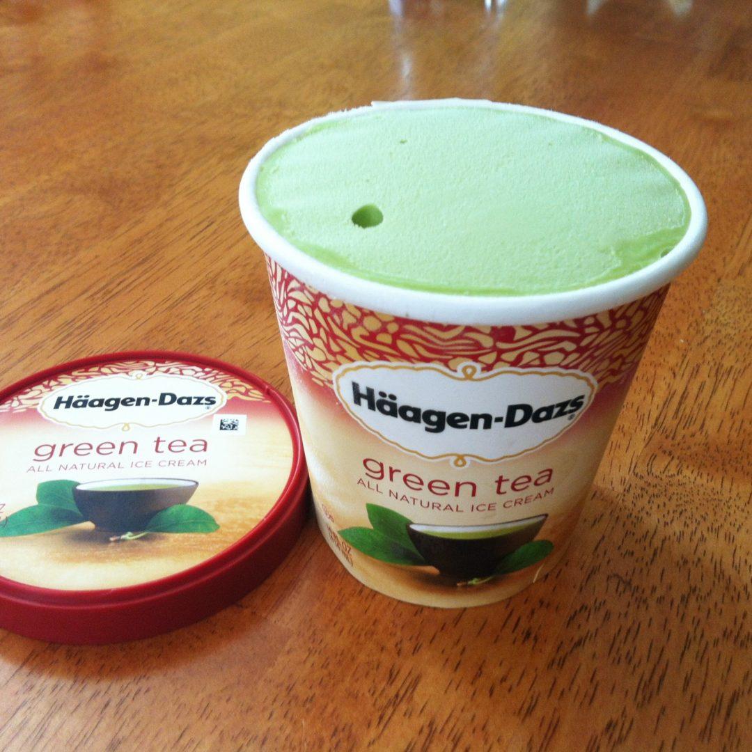 green tea ice cream review