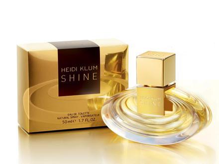 heidi klum shine perfume review