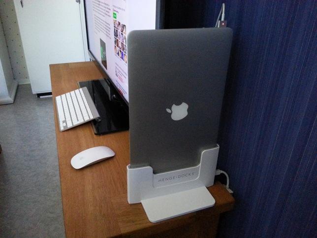 henge dock review macbook air