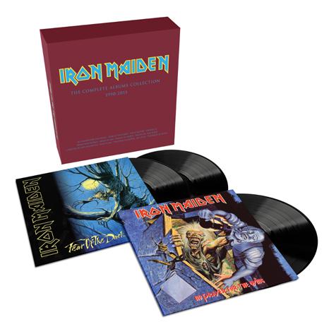 iron maiden vinyl reissues review
