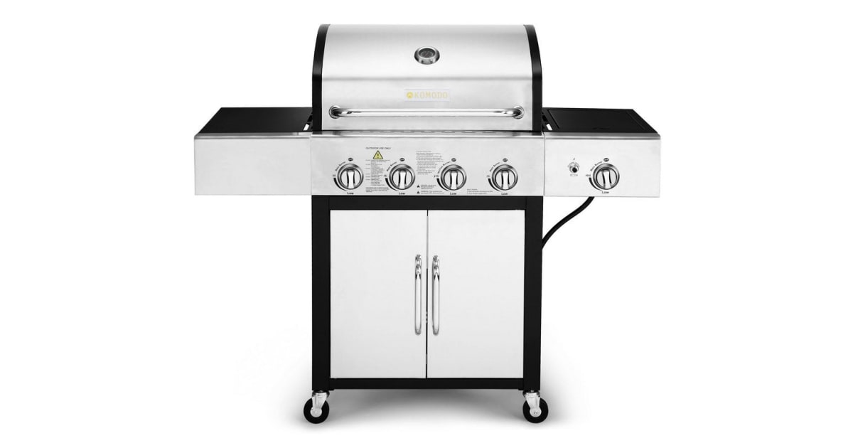 komodo 4 burner hooded bbq review