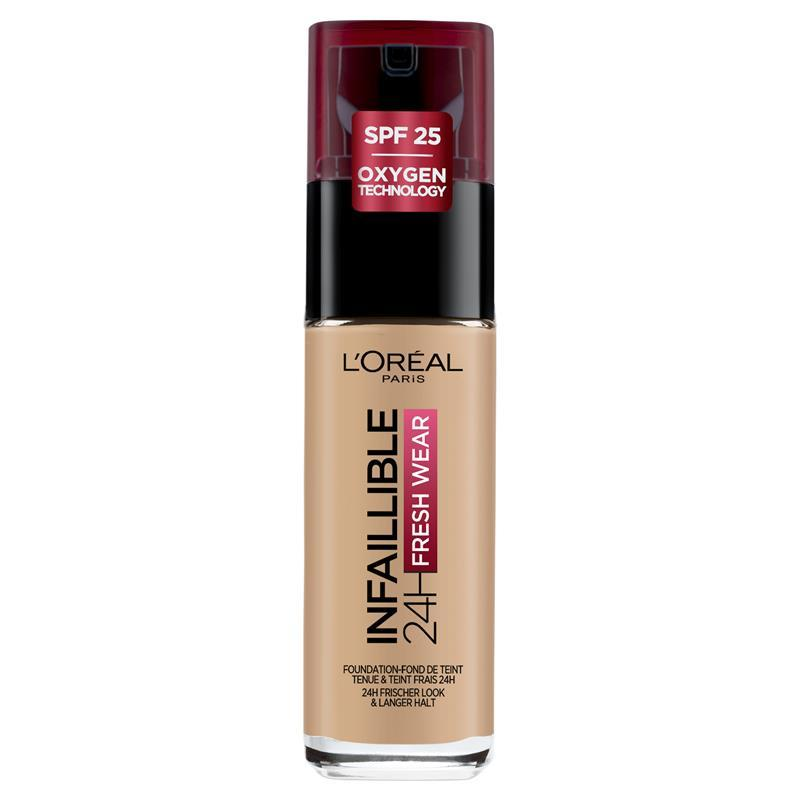 l oreal infallible liquid foundation review