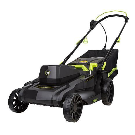 lawnmaster 18 electric lawn mower review