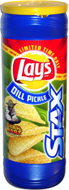 lays dill pickle chips review