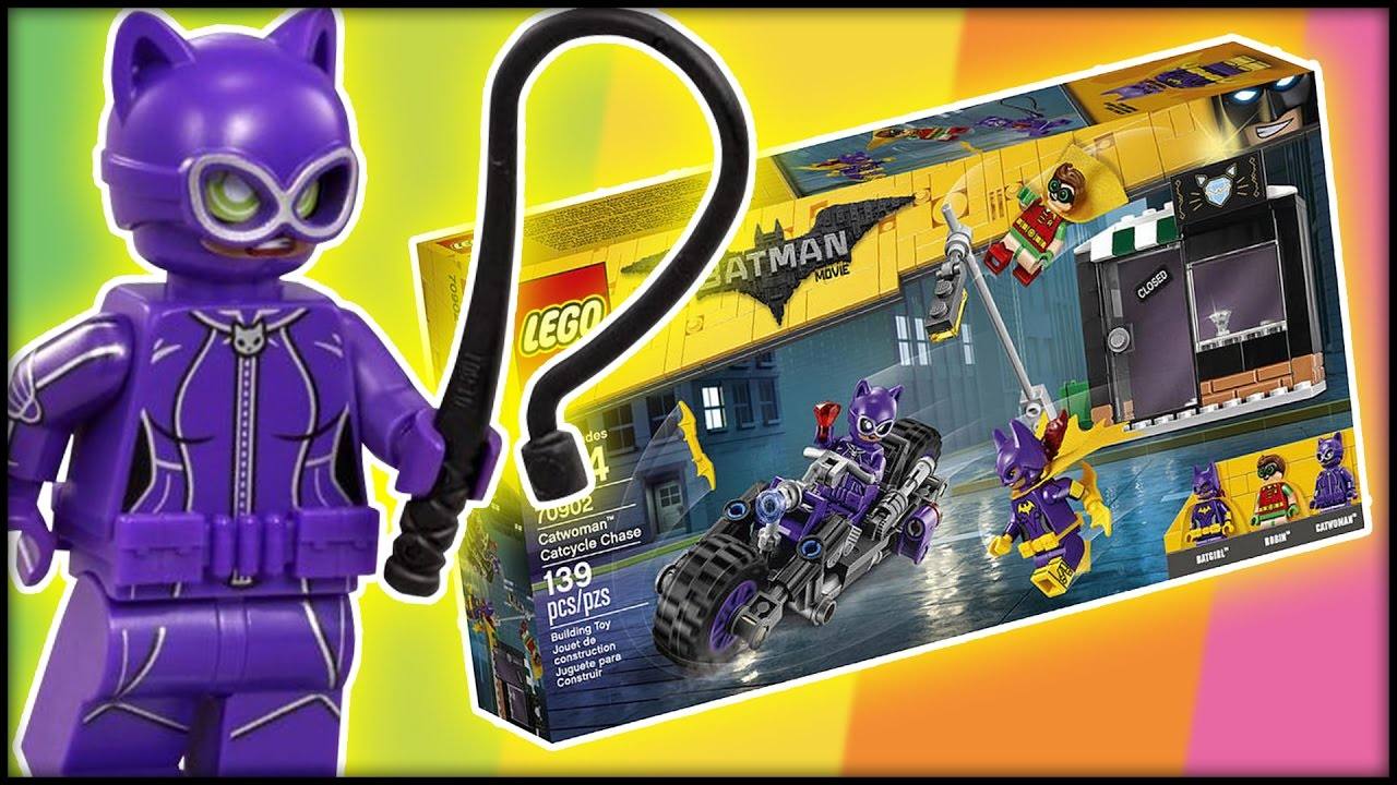 lego catwoman catcycle city chase review