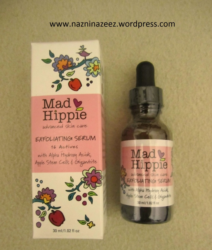 mad hippie exfoliating serum review