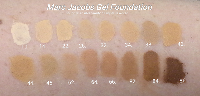marc jacobs foundation review oily skin
