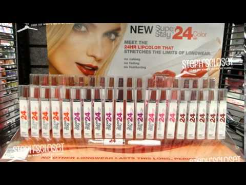 maybelline 24 hour lip colour review