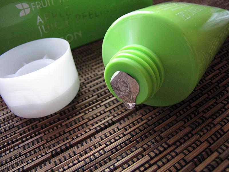 mizon apple juicy peeling gel review