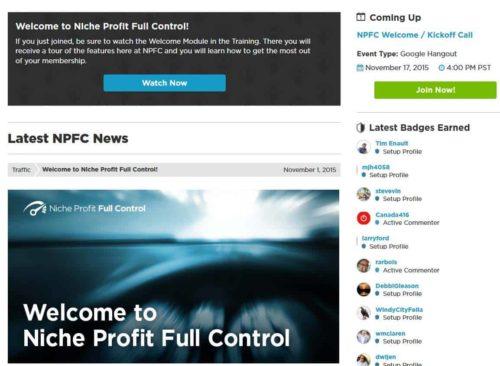 niche profit full control review