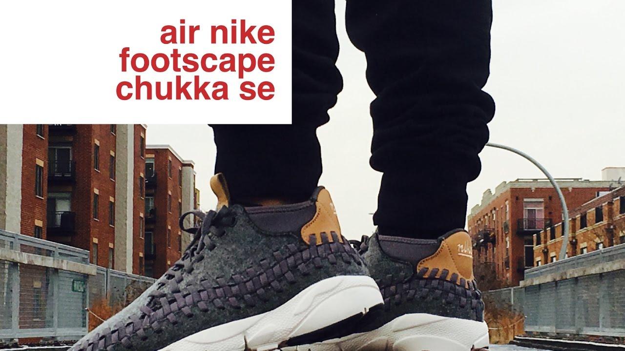 nike air footscape woven chukka se review