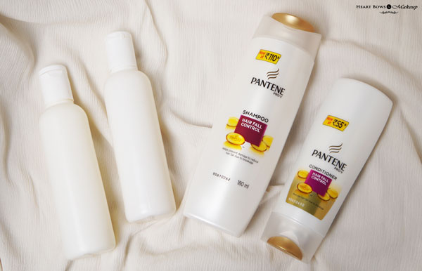 pantene pro v hair fall control shampoo review