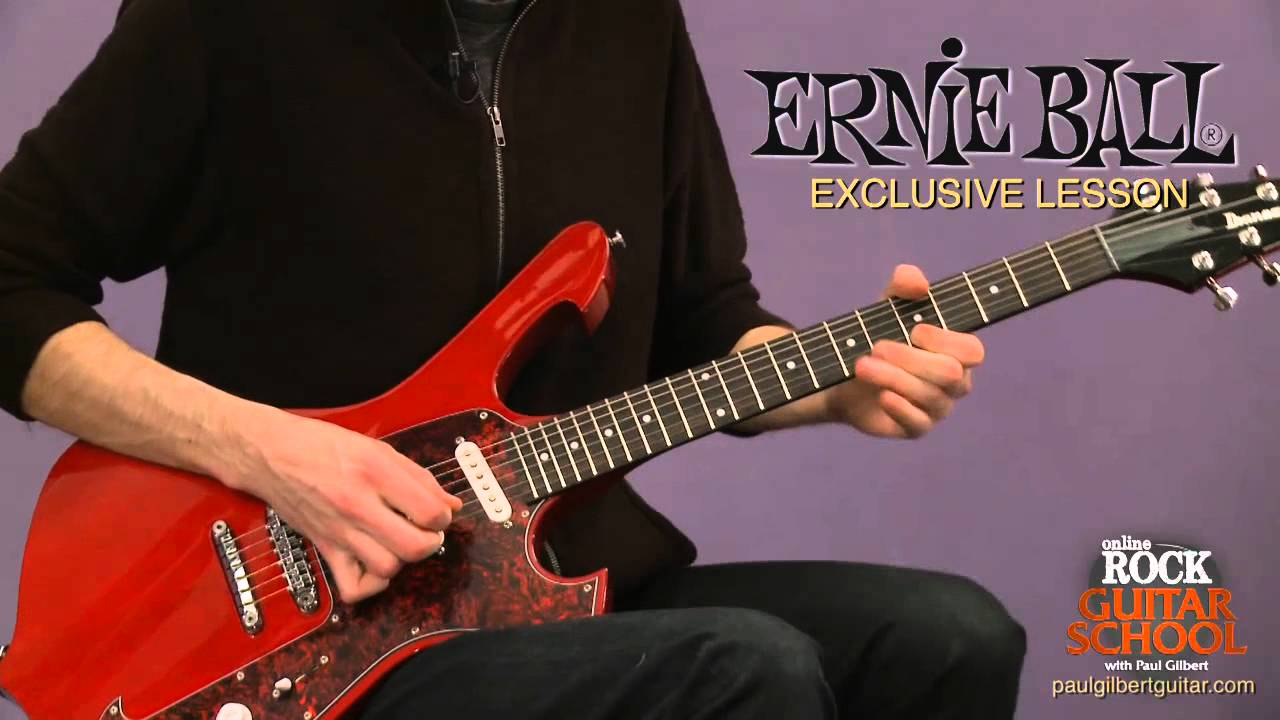 paul gilbert online guitar school review