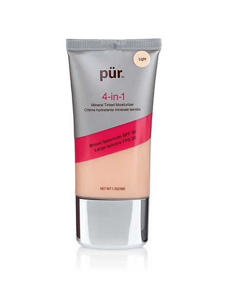 pur minerals 4 in 1 tinted moisturizer review