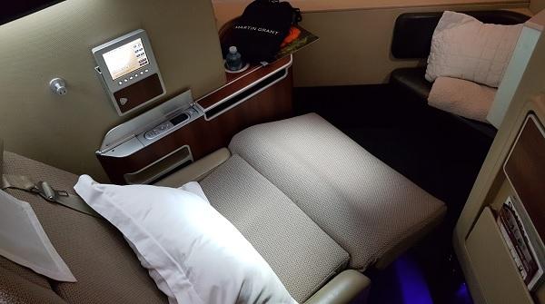 qantas a380 economy seat review