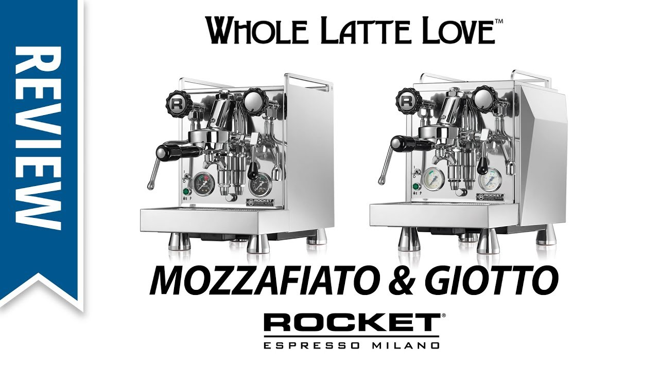 rocket mozzafiato type v review