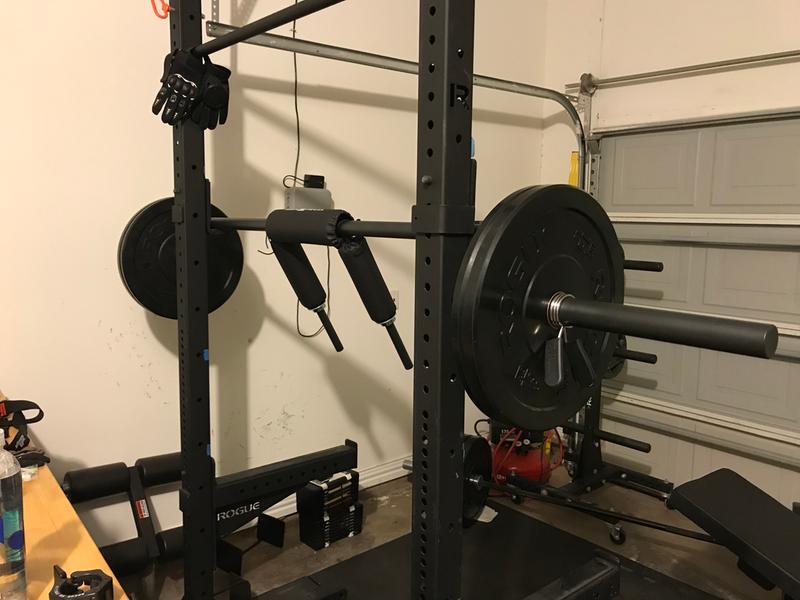 rogue safety squat bar review