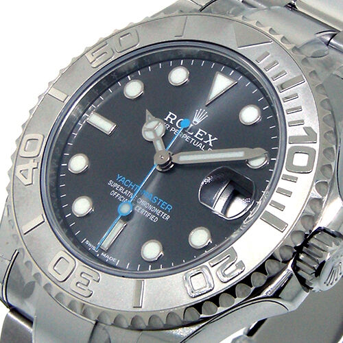 rolex yacht master rhodium dial review