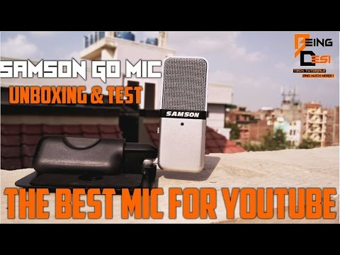 samson go mic review and test