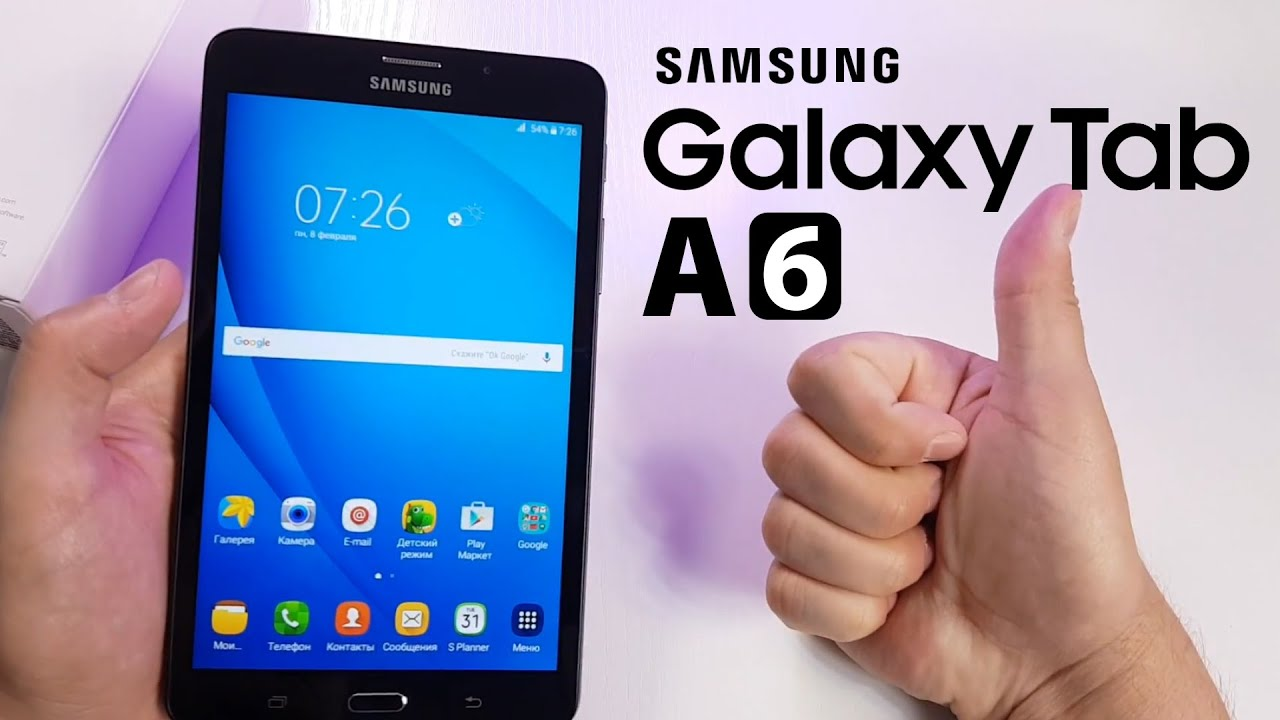 samsung tab a6 7 review
