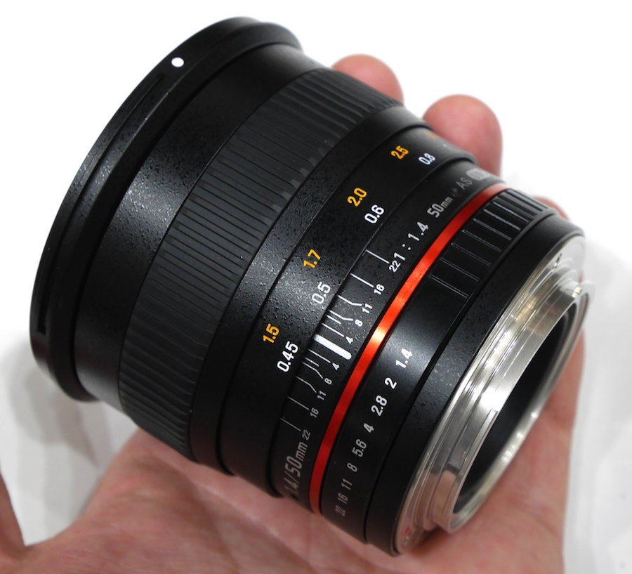 samyang 50mm f 1.4 as umc review
