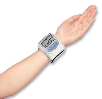 sanitas wrist blood pressure monitor review