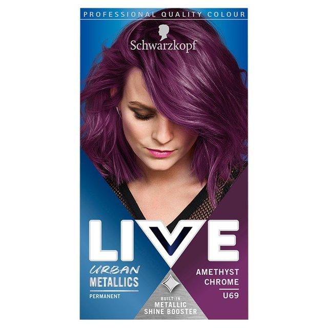 schwarzkopf blue black hair dye review