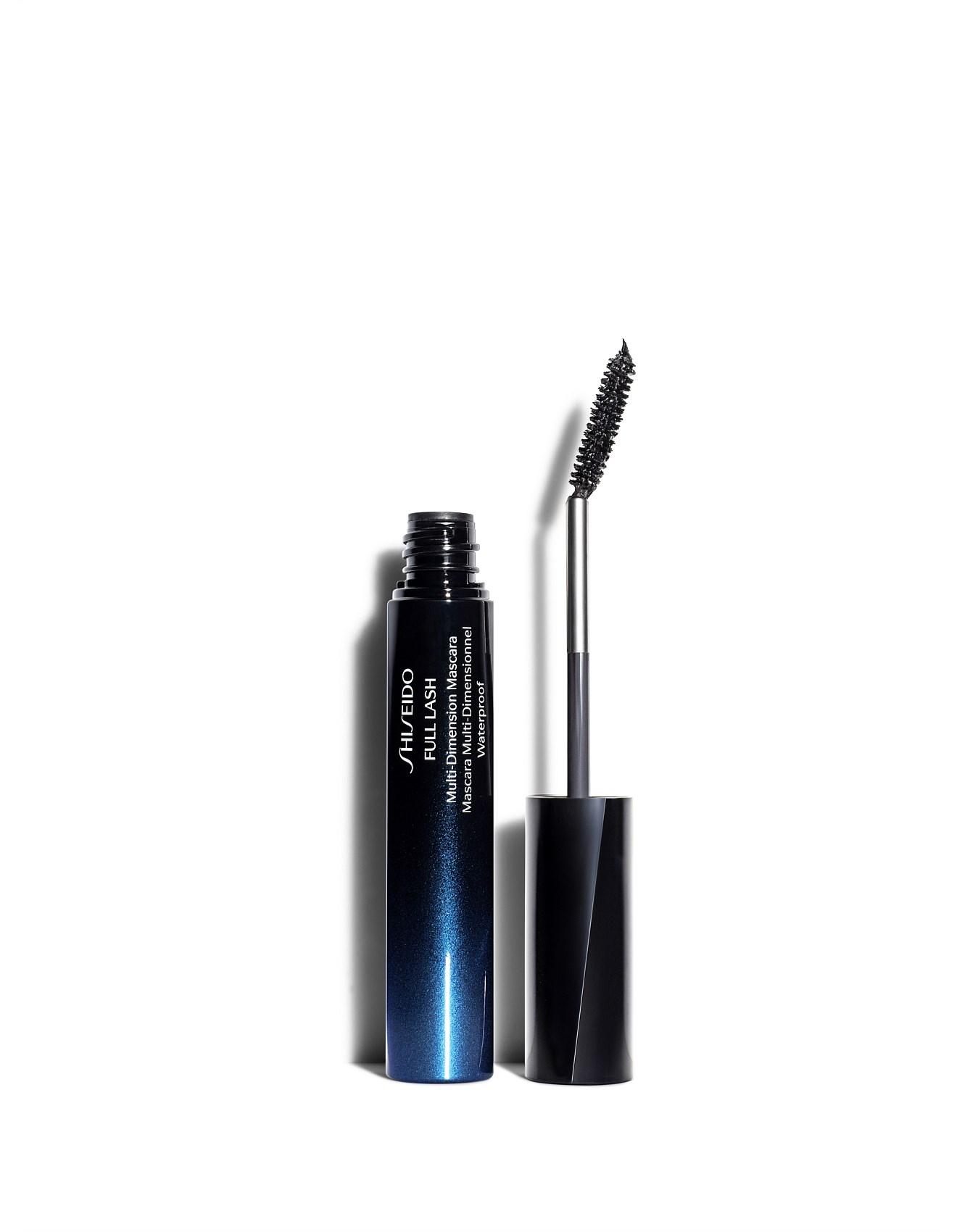 shiseido full lash multi dimension mascara waterproof review
