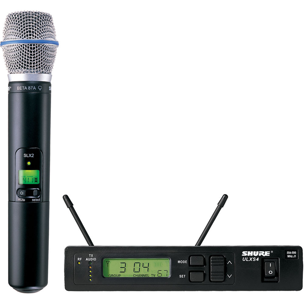 shure beta 87a wireless review