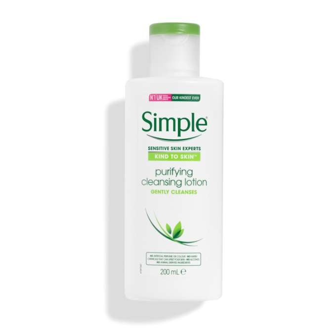 simple purifying cleansing lotion review