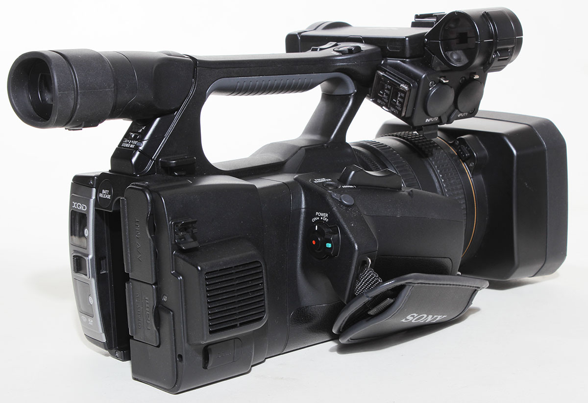sony fdr ax1 digital 4k video camera recorder review