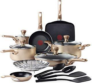 t fal culinaire 16 pc cookware set reviews