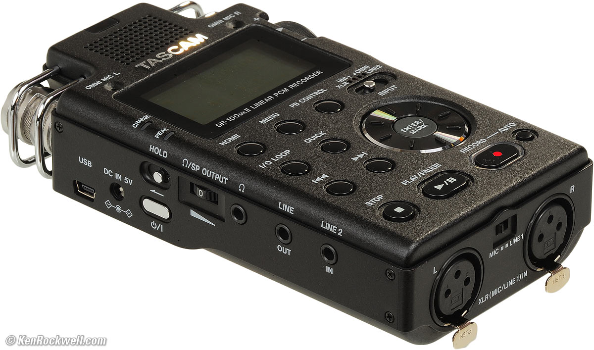 tascam dr 07 mkii review
