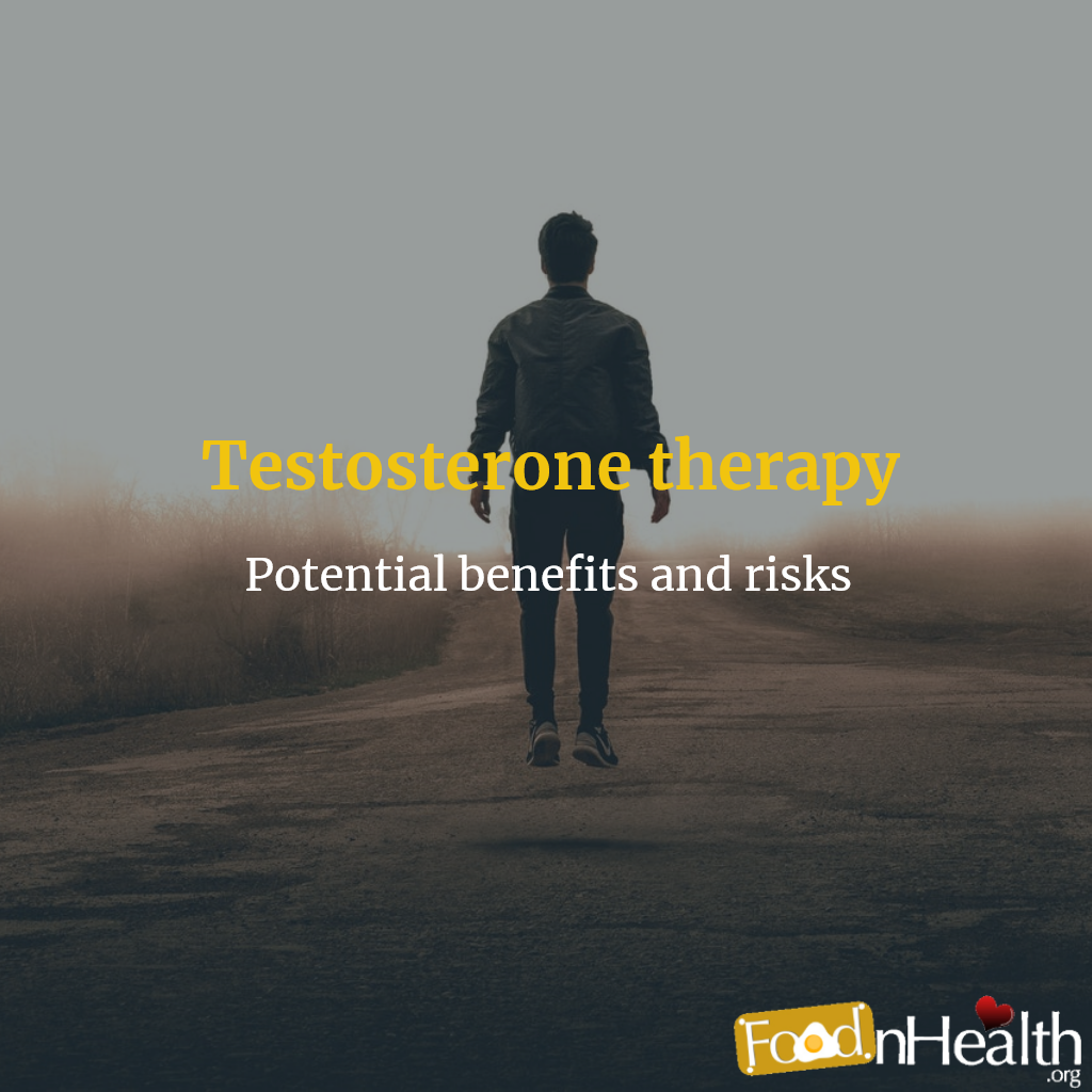 the benefits and risks of testosterone replacement therapy a review