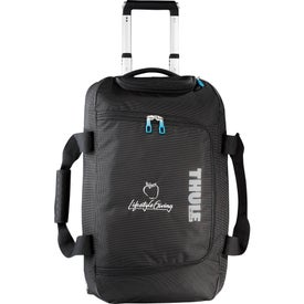 thule crossover 56l rolling duffel review