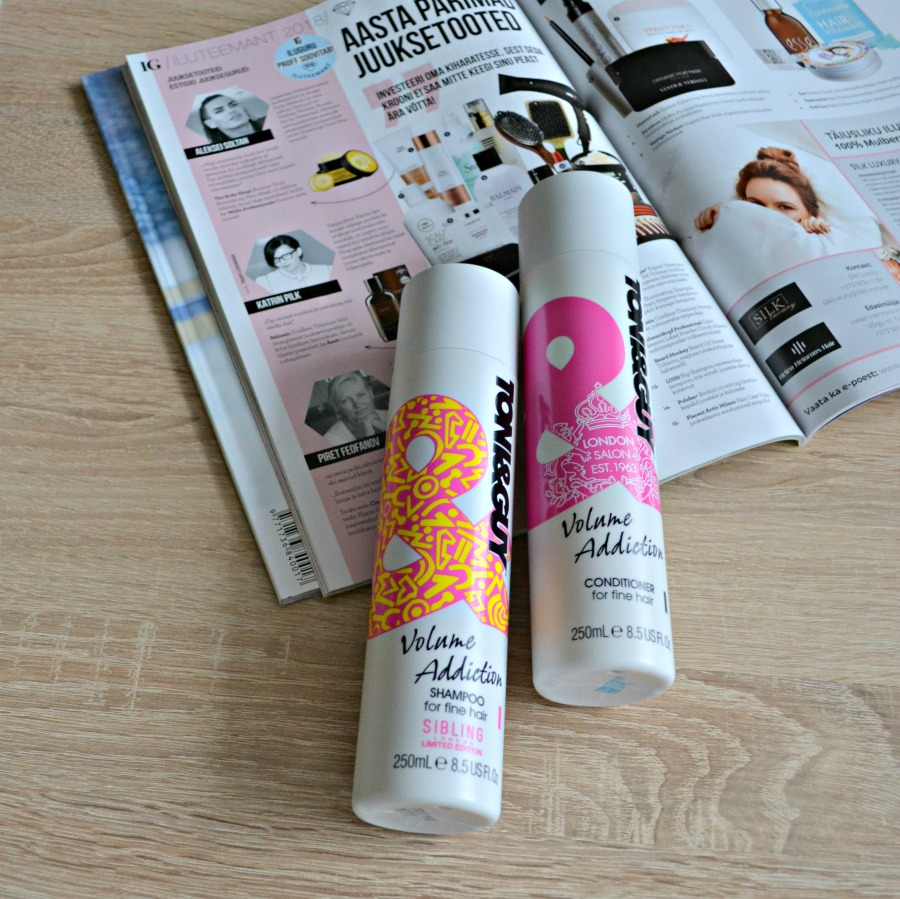 toni and guy shampoo and conditioner review