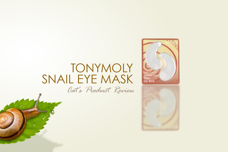 tony moly snail bb cream review