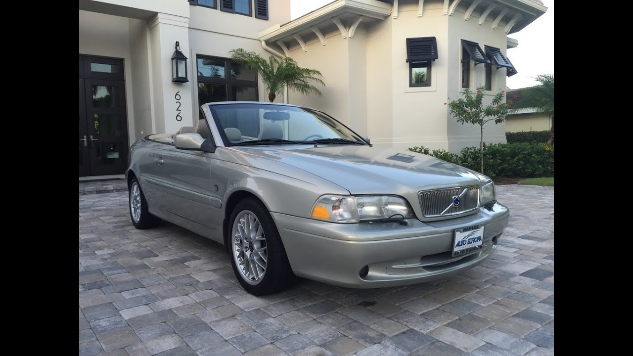 volvo c70 convertible review 2001