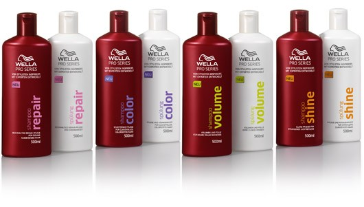 wella pro series shampoo review
