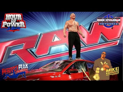 wwe monday night raw review